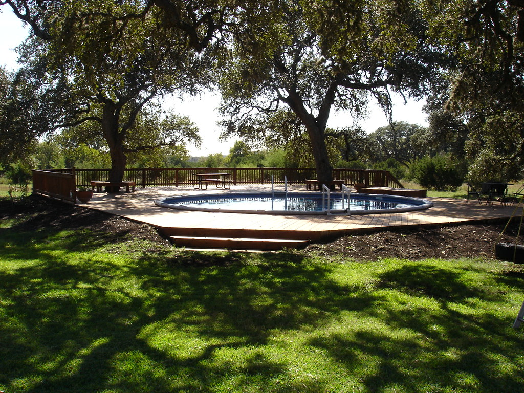Round above ground pool spring branch tx 30 ft for 30 ft garden pool