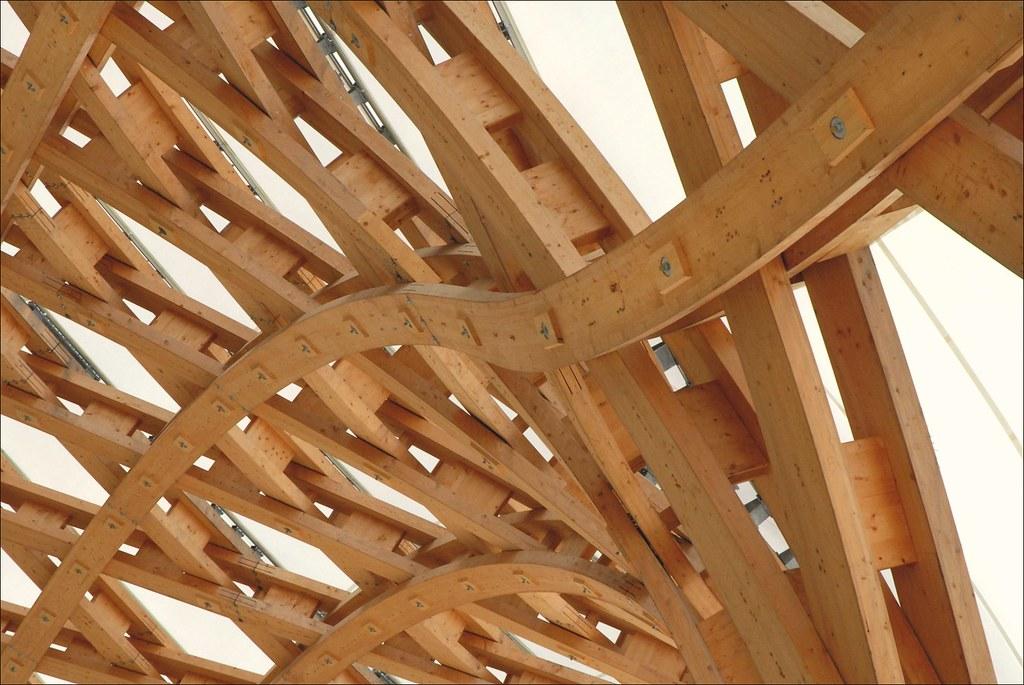 la charpente du centre pompidou metz la charpente du b tim flickr. Black Bedroom Furniture Sets. Home Design Ideas