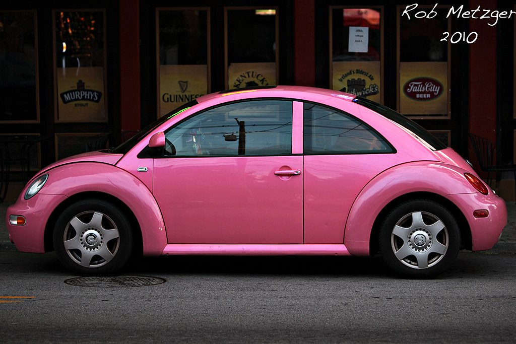 Punch buggy Pink | Just a bug | Rob Metzger | Flickr