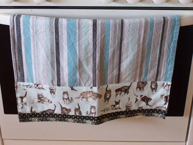 Kitten Kitchen Towel Embroidery Designs Honeymoon