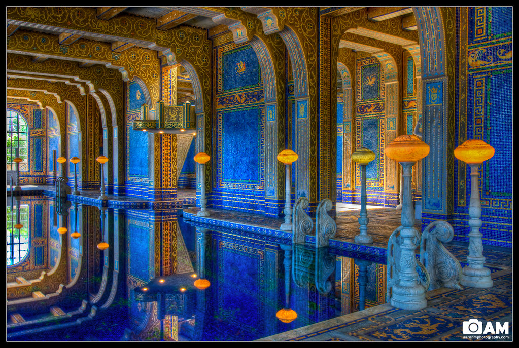 Hearst Castle Indoor Pool My Parents Came Into Town