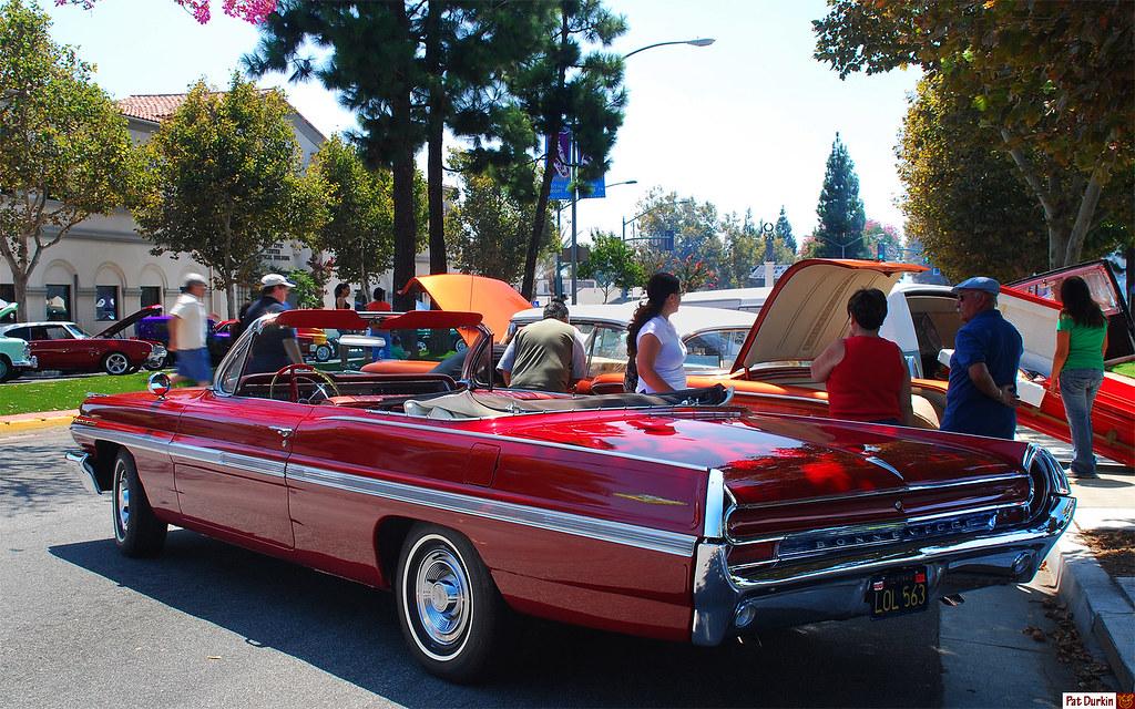 1962 Pontiac Bonneville Convertible Belmar Red Poly Met