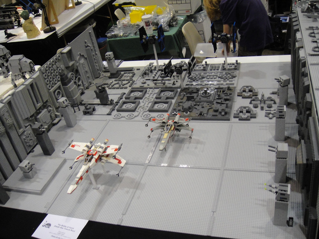 Star Wars Celebration V Lego Diorama Death Star Trench
