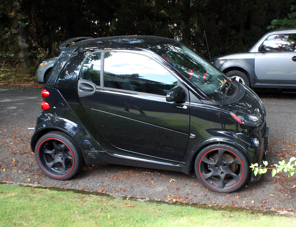 Souped-Up Smart Car   This was taken in First Shaughnessy, w…   Flickr
