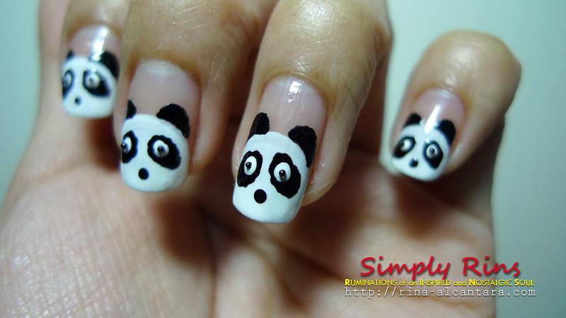 Nail Art Panda 04 | Rina Alcantara | Flickr
