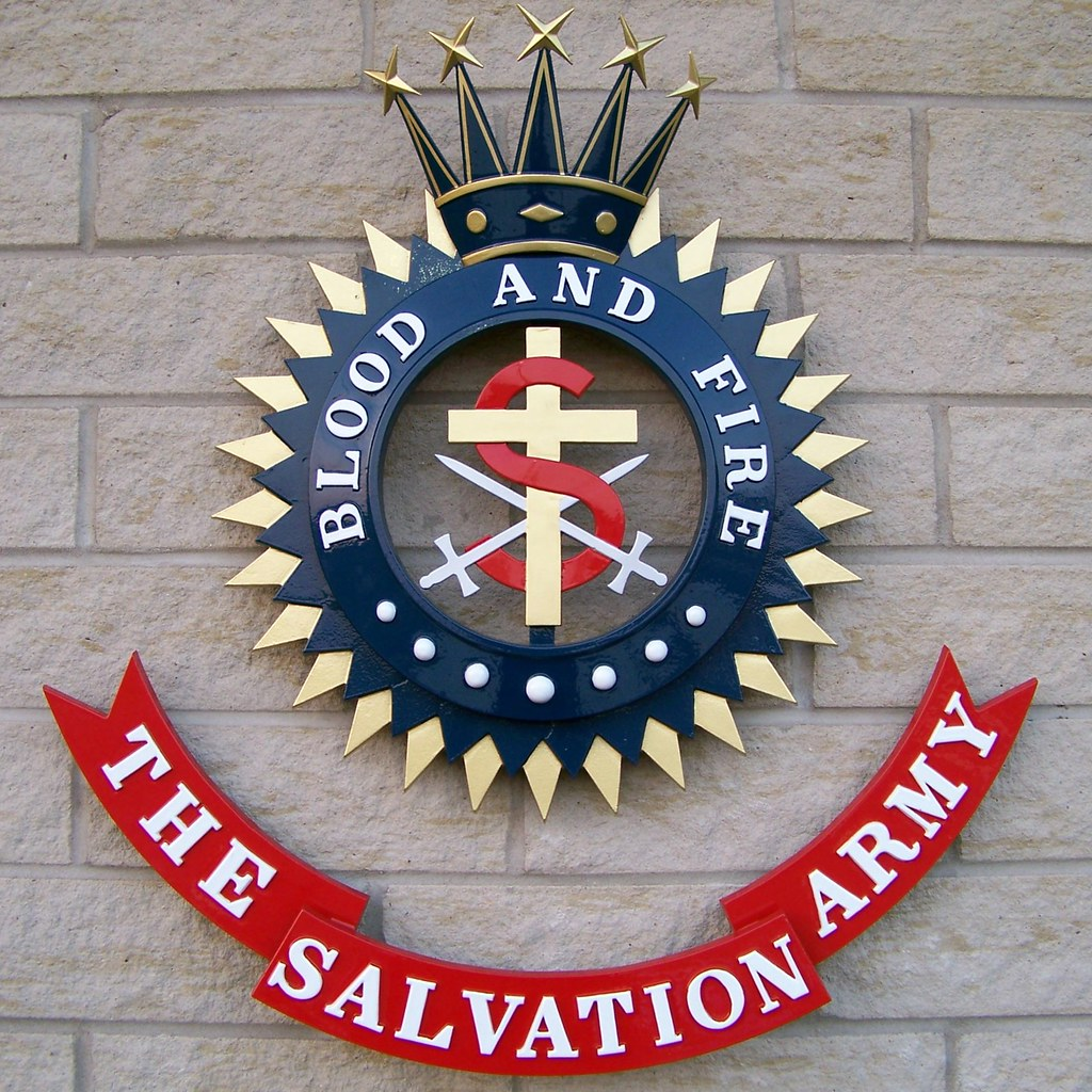 Blood and fire the salvation army crest of the salvati flickr blood and fire the salvation army by will s biocorpaavc Choice Image