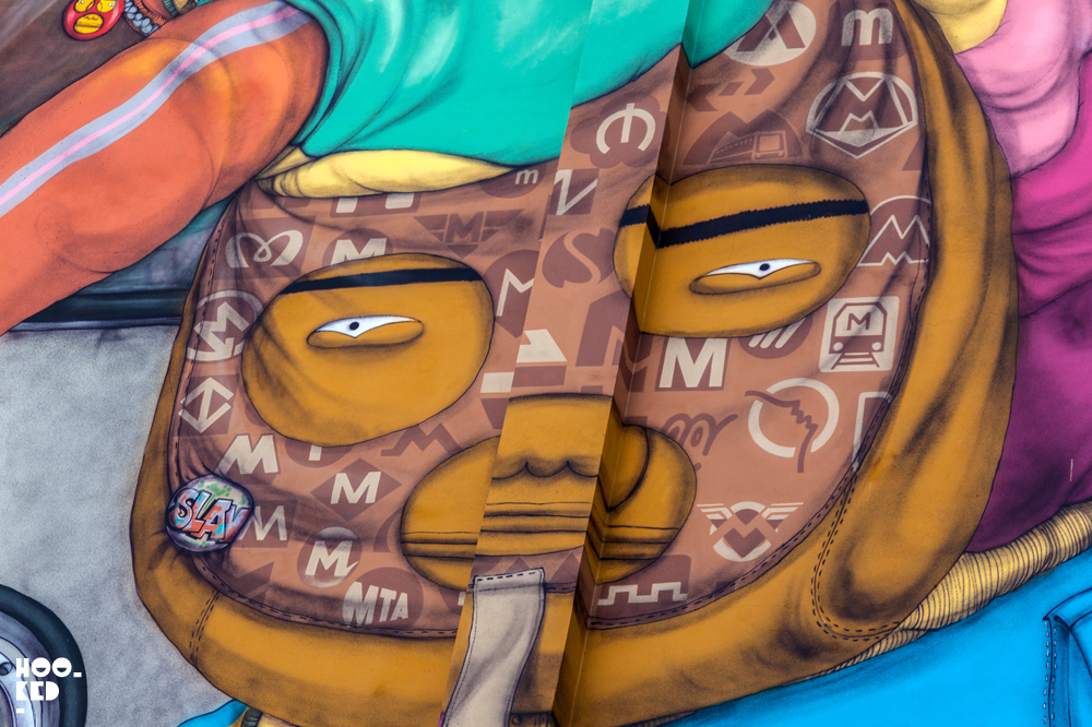 Milan Street Art with a mural by Os Gemeos
