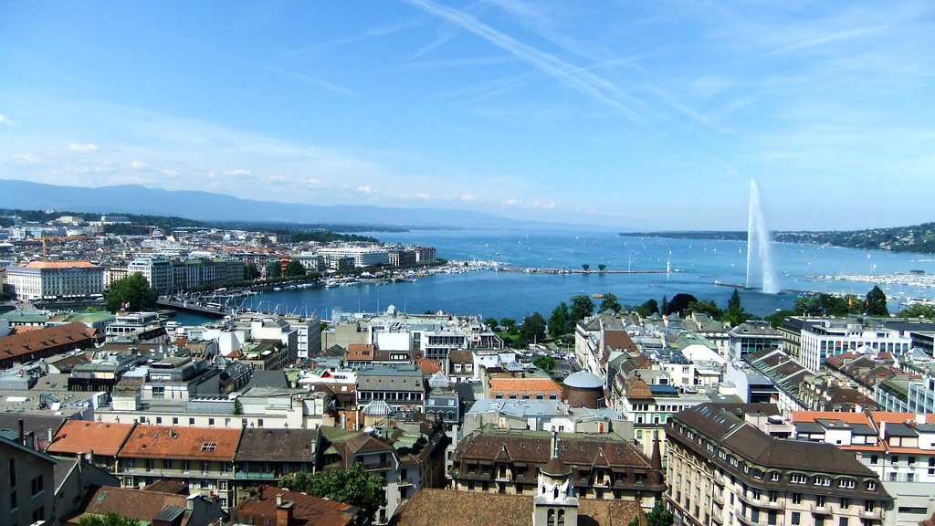 Image result for geneva skyline