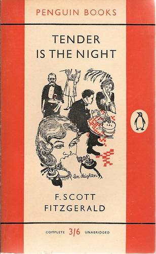 Penguin Book Back Cover : Tender is the night penguin book cover from