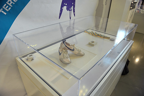Lord Coe's running shoes from the Parliament and the Games exhibition | by UK Parliament