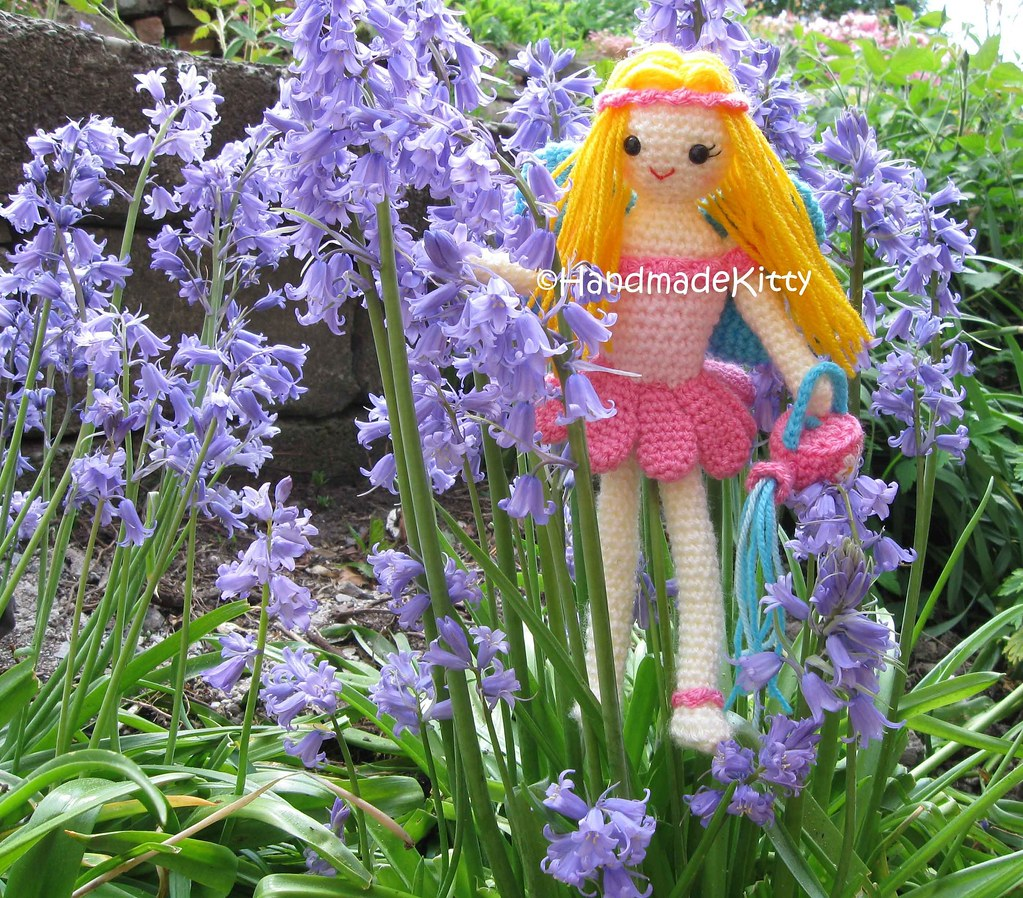Garden Fairy Among Bluebells Handmadekitty Flickr
