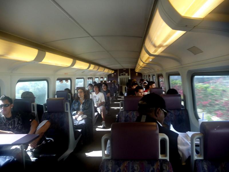 typical interior view metrolink train car upper level flickr. Black Bedroom Furniture Sets. Home Design Ideas