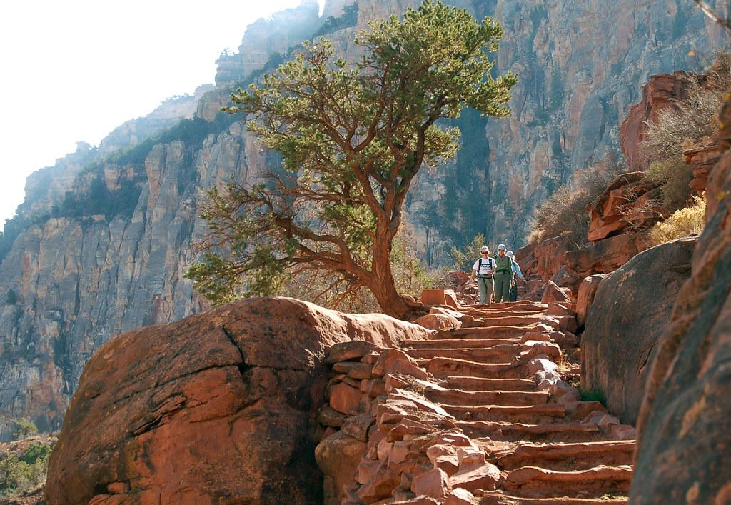 2006_0391 S Kaibab Trail Grand Canyon: Below Cedar Ridge