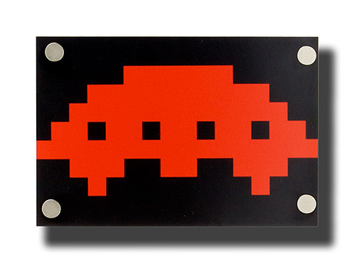 phlibbed: mother ship | one 6x4 space invader photograph