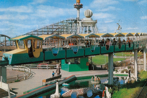 Postcard Blackpool Pleasure Beach Early 1970s 2 | by combomphotos