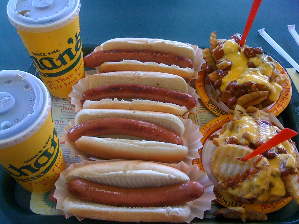 Nathans Hot Dog Staten Island Grill
