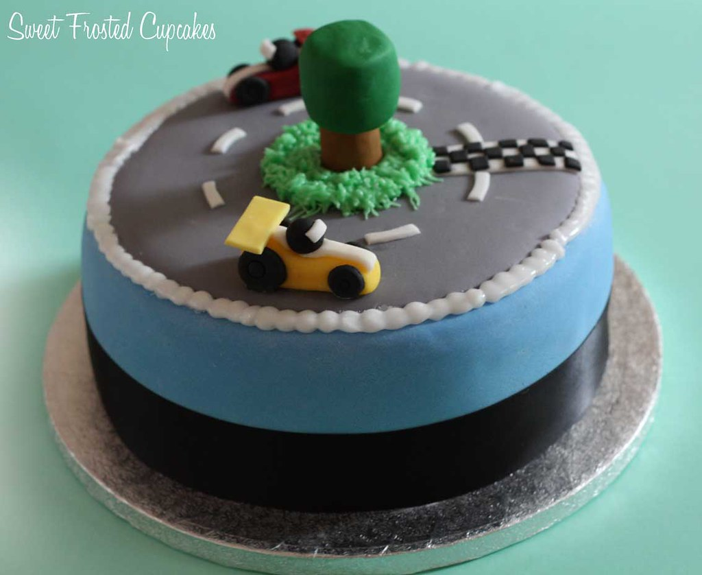 Race Car Birthday Cake Ideas