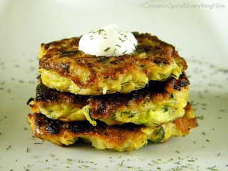 Zucchini Fritters | by CinnamonKitchn