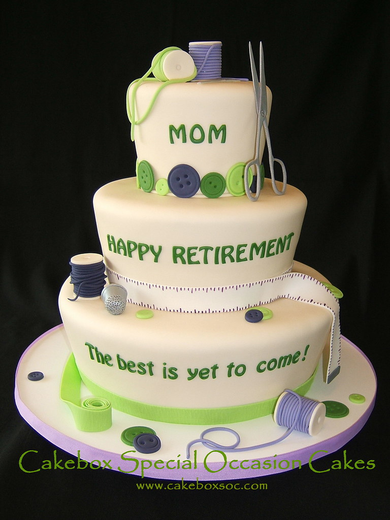 Happy Retirement Cake Sayings