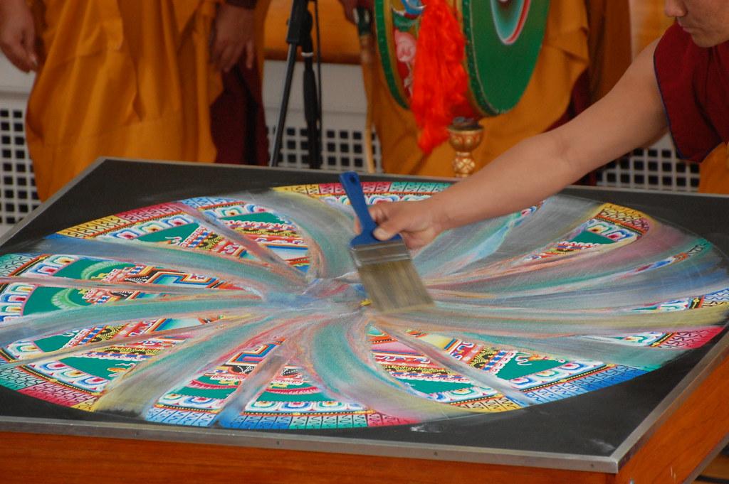 Mandala Painting School Uk