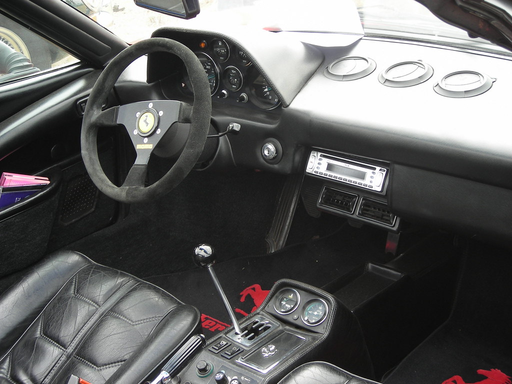 ferrari 308 gts quattrovalvole interieur the ferrari 308 flickr. Black Bedroom Furniture Sets. Home Design Ideas