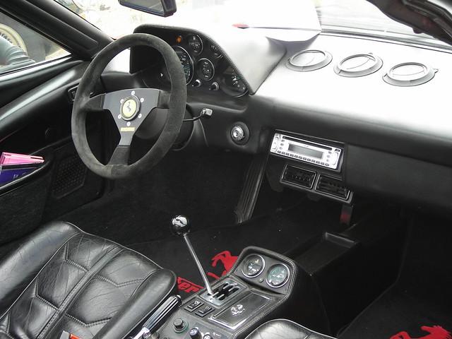 Ferrari 308 gts quattrovalvole interieur the ferrari for Interieur 308 gt