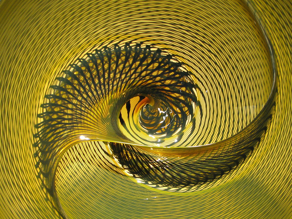 """Infinite Spiral Well   The sculpture """"Spirale"""" by the Italia…   Flickr"""