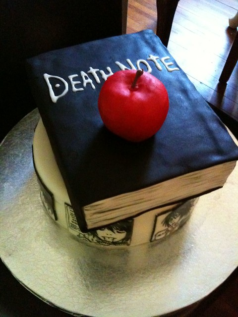 Death note L Lawliet cake | Flickr - Photo Sharing!
