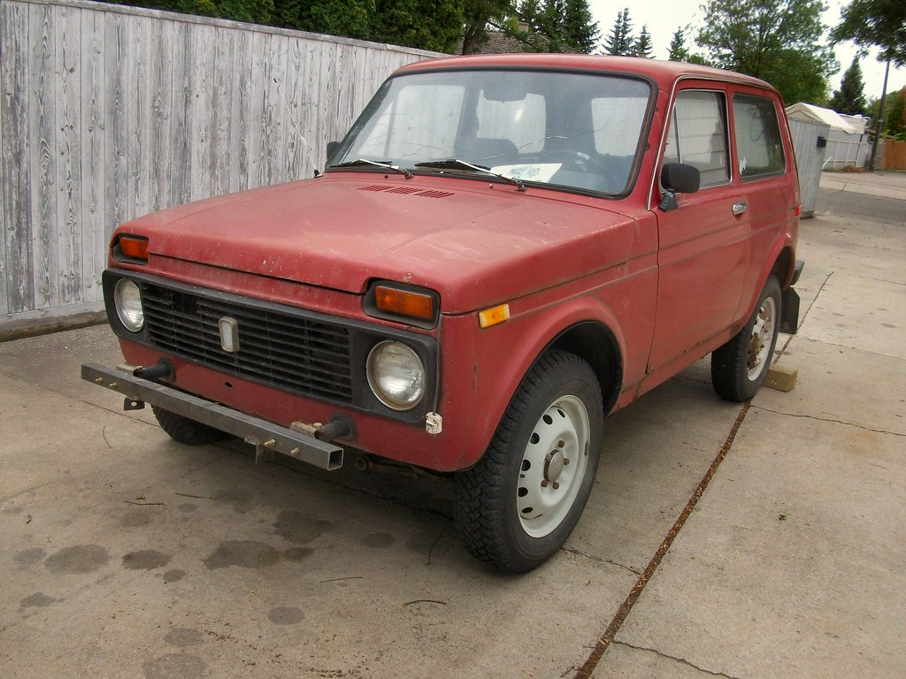1991 lada niva 1600 1991 lada niva home safe here is the flickr. Black Bedroom Furniture Sets. Home Design Ideas