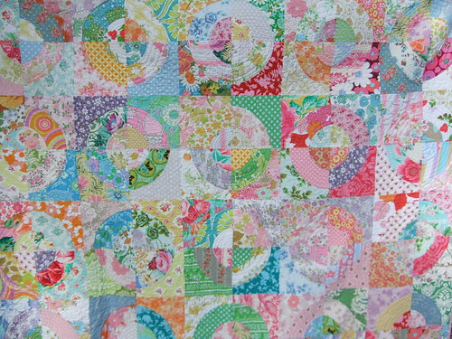 Kirstys Circle Quilt | by clothwork