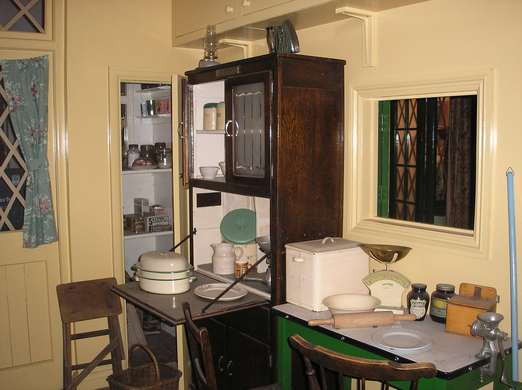 Kitchen 1940s House Imperial War Museum Chris Hall Flickr