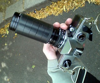 Praktica MTL5B with homemade  Petzval-style lens | by richard314159