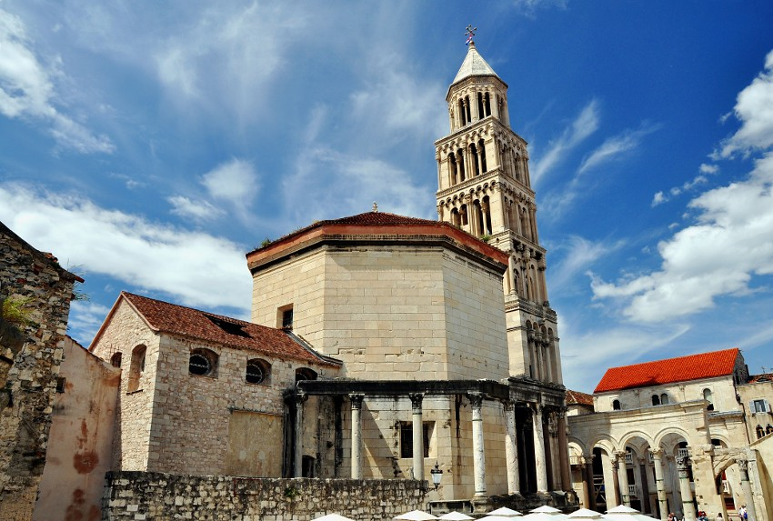 St Duje St Domnius In Split The Cathedral Of St