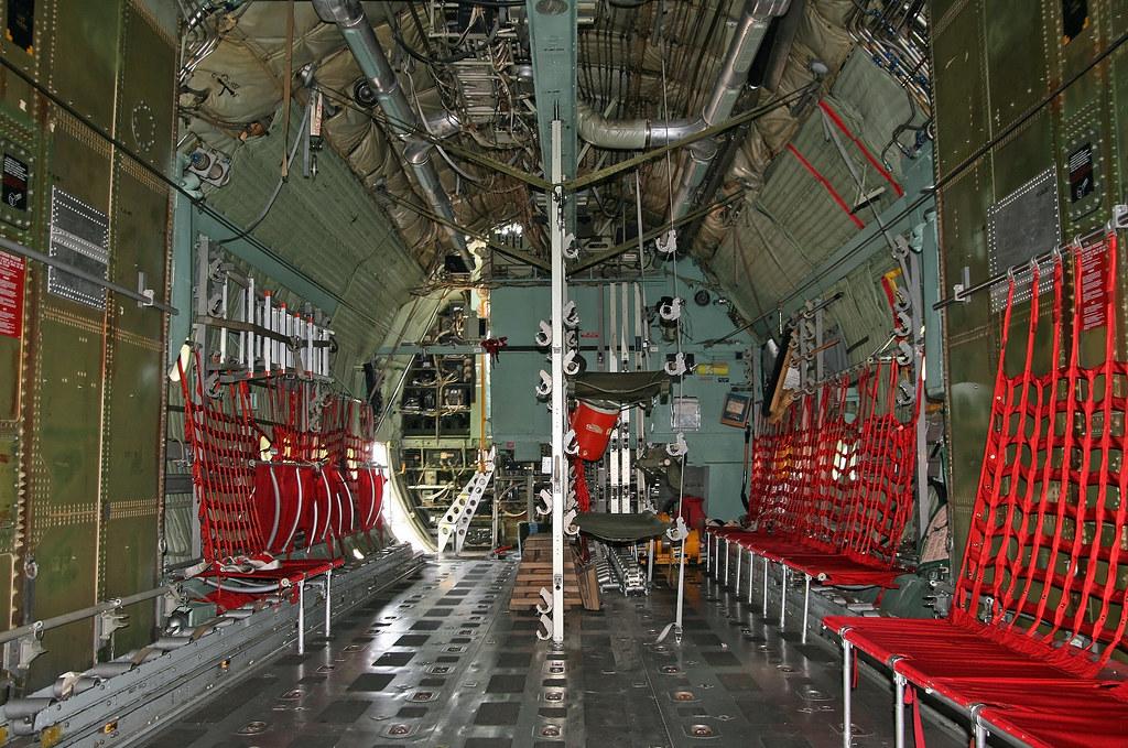 C 130 Military Transport Aircraft Lockheed C-130A Hercul...