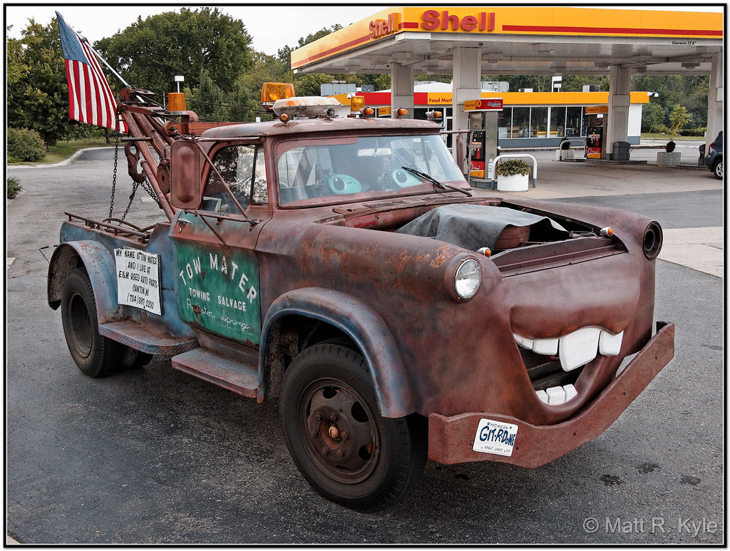 It S Quot Tow Mater Quot From The Movie Cars 2 A Real Life Quot Tow