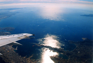 Aegean sea from the window, Greece エーゲ海 | by travelingmipo