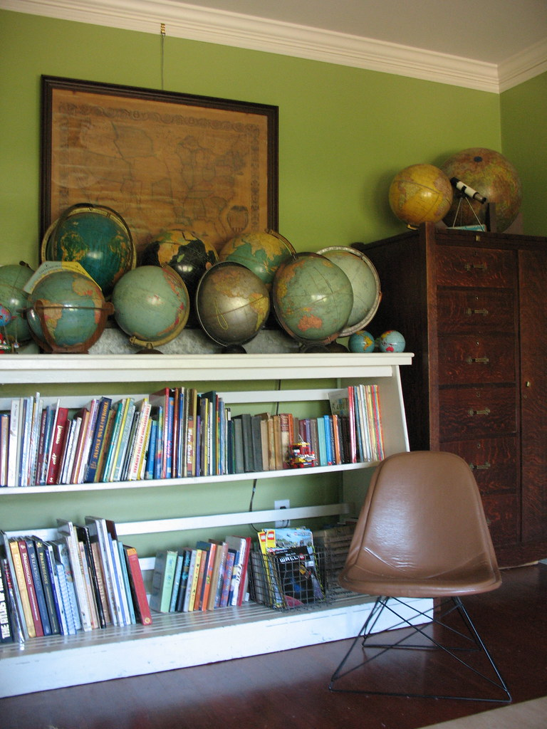 Globes In Boy 39 S Room I Wish His Room Was Always As Clean