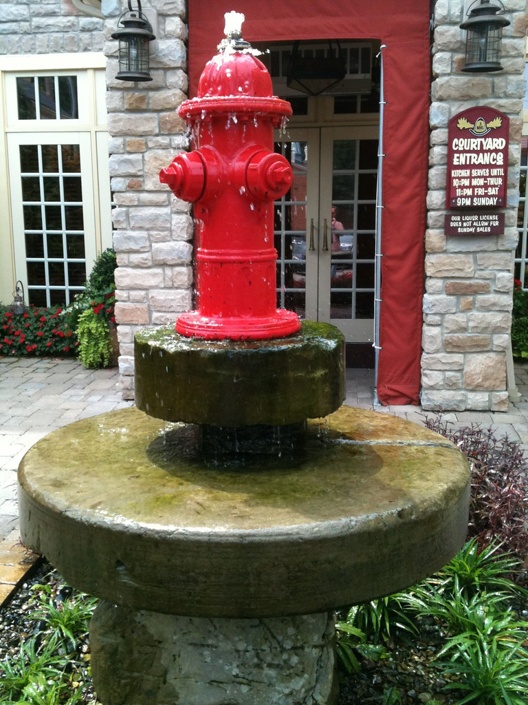 Fire Hydrant Fountain Scott Flickr