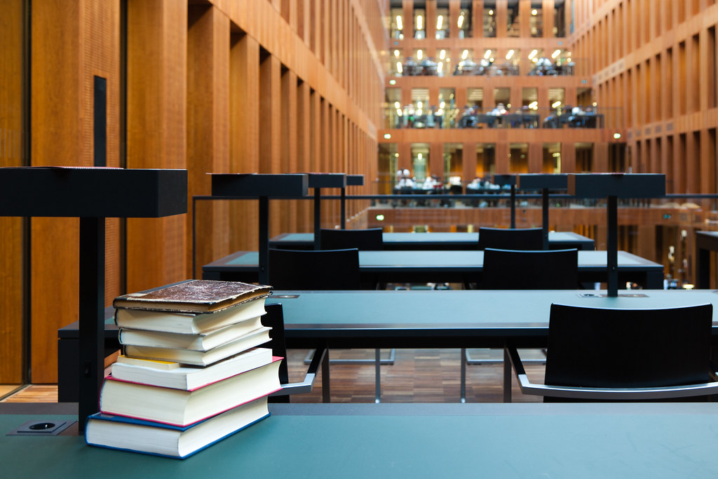 bibliothek hu berlin | flickr, Innenarchitektur ideen