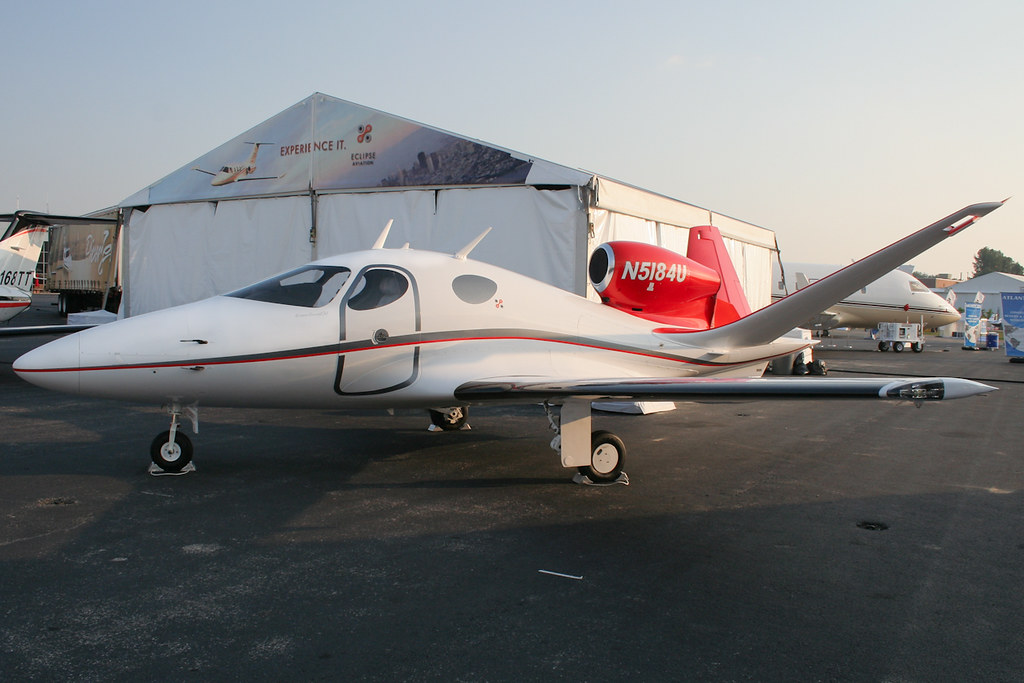 Eclipse Aviation 400 Eclipse 400 Vlj Ecj N5184u
