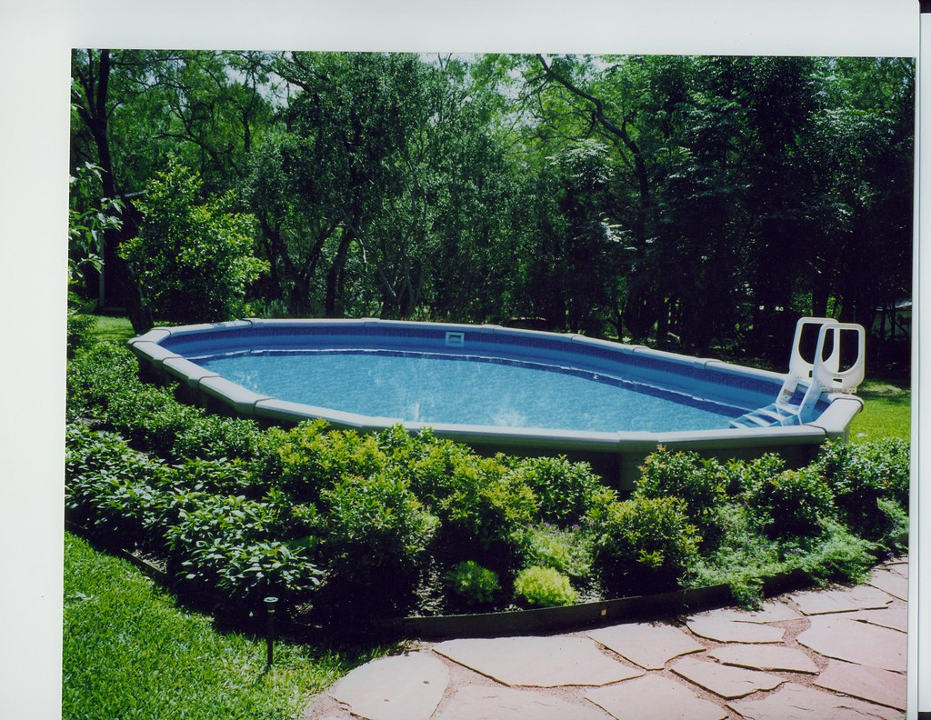 Oval Pool Garden Ridge 15x26 Ft Oval Pool Recessed