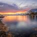 Sunset On The Back Of Marbella Promenade :: HDR :: DRI