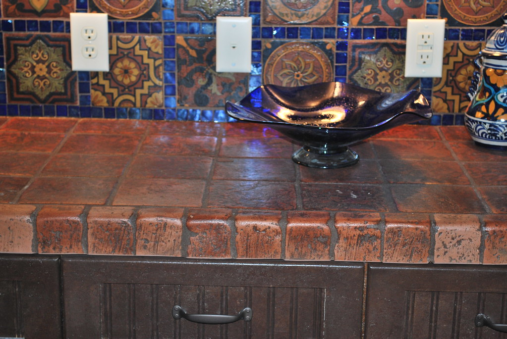 Terracotta Tile Countertops Terracotta Tile Gives