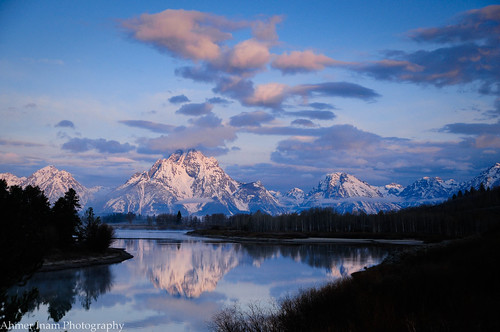 Mt. Moran & Snake River | by ahmer_inam