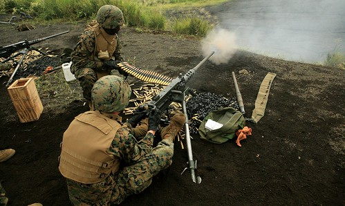 Marines fire machine guns | by United States Marine Corps Official Page