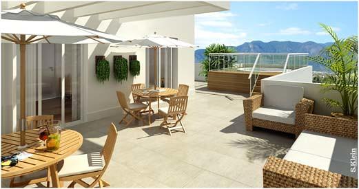 Decora o de varandas e terra os varandas e terra os for Mobili per terrazzi e giardini