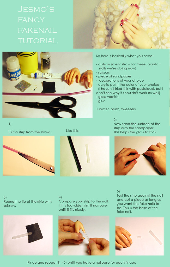 acrylic fake nails tutorial part 1   Few people were interes…   Flickr