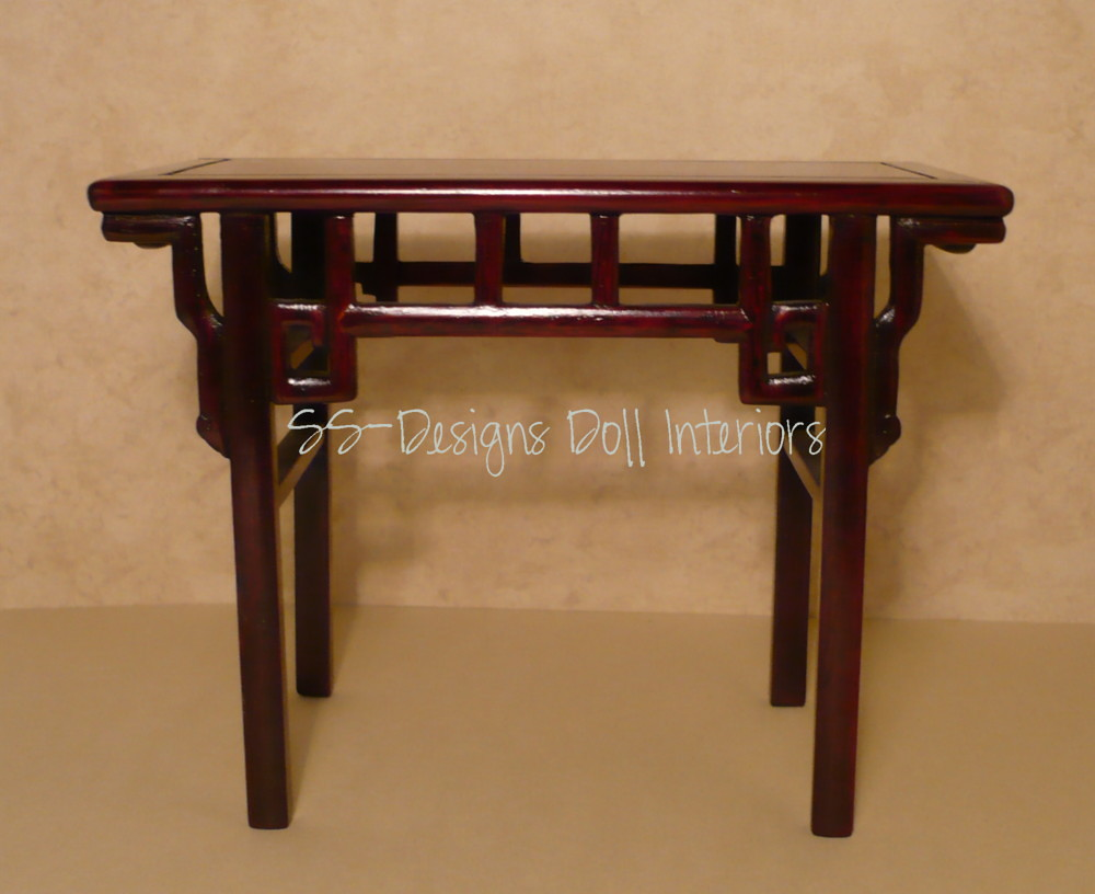 Rosewood Small Console Table. Part