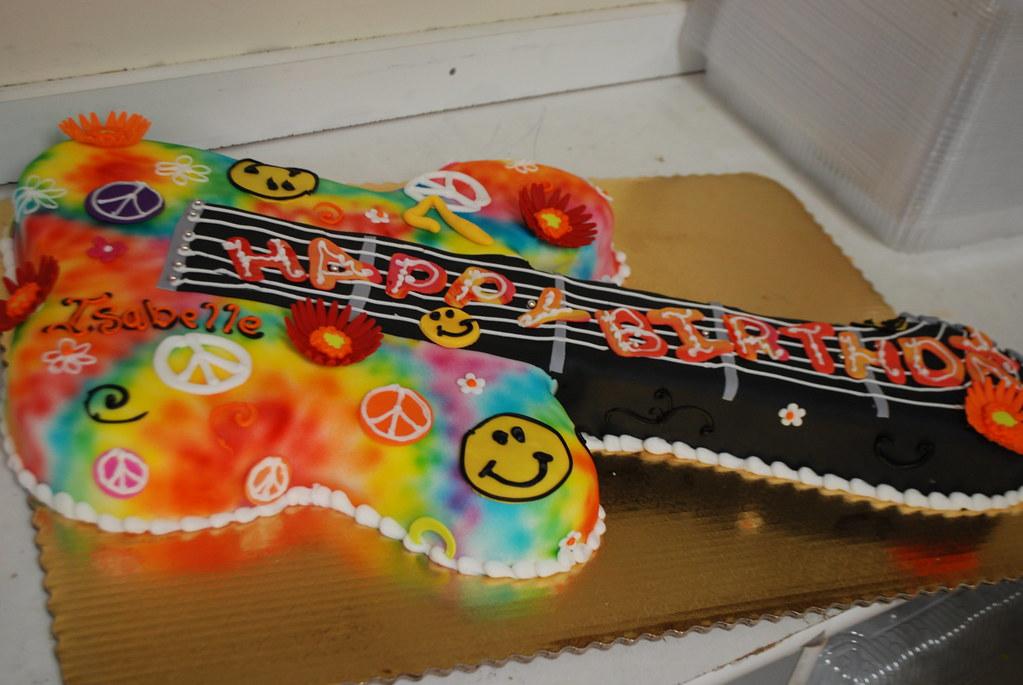Peace Sign Cake Pics