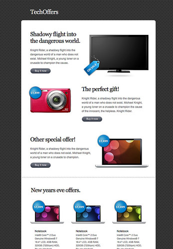 TechOffers HTML Newsletter | by ThemeFuse